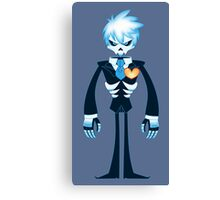 Ghost!Jack Frost in Tux Canvas Print