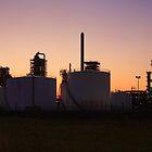 Refinery panorama view by Peet de Rouw
