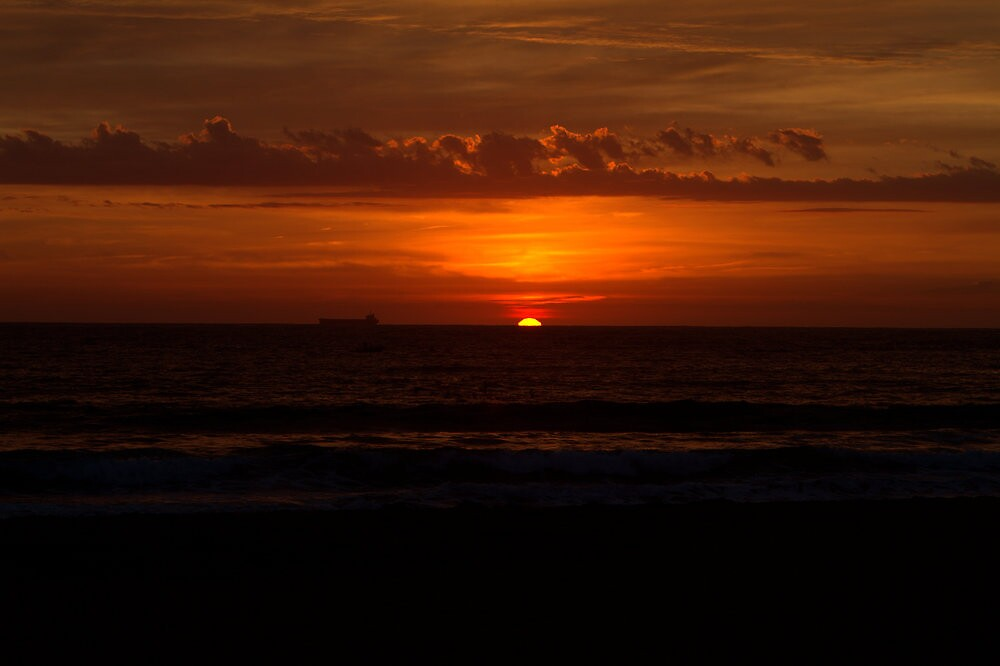 Sunrise Over the Entrance by MaluMoraza
