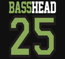 Basshead 45 (neon green) by DropBass