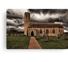 All Saints Church Woodton Canvas Print
