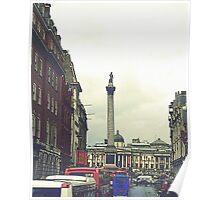 Heading for Trafalgar Poster