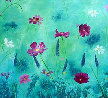 Meadow Moment in Acrylics by Emily King