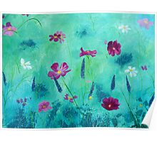 Meadow Moment in Acrylics Poster