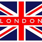 London UK Flag by FlagCity