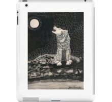 Howling Wolf iPad Case/Skin