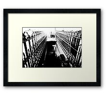 gateway to the netherworld Framed Print