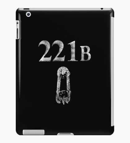 221 B Baker Street iPad Case/Skin