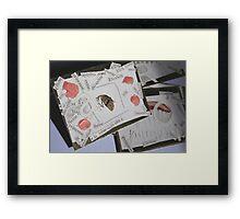 ACEO - Fanfare for E -  Framed Print