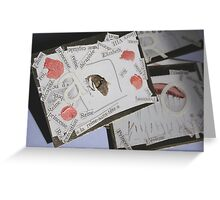 ACEO - Fanfare for E -  Greeting Card