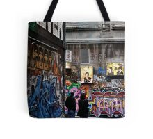 """It's art Jim, but not as we know it"" Tote Bag"