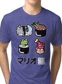 Mario Sushi Tri-blend T-Shirt