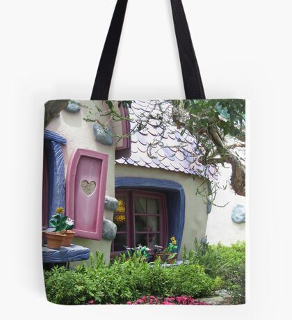 Sneaking Up on Minnie Mouse Tote Bag