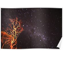 The Mallee Sky Poster