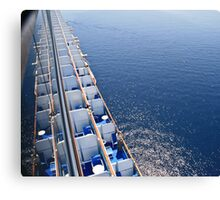 Best viewing from a big ship  Canvas Print