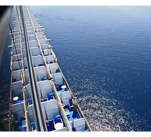 Best viewing from a big ship  Photographic Print