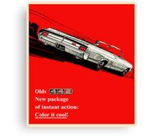 Oldsmobile 442 vintage advertisement Canvas Print