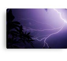 Lightning Storm in Florida Canvas Print