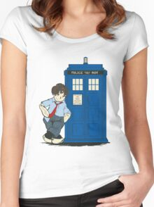 The Raggedy Doctor Women's Fitted Scoop T-Shirt