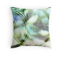 The Wheel for Life Throw Pillow