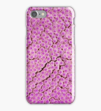 Purple thistle stem iphone case iPhone Case/Skin