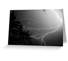 Lightning Storm in Florida Greeting Card