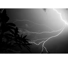 Lightning Storm in Florida Photographic Print