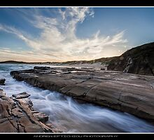 Sunset At Soldiers Beach by Andy Eftichiou