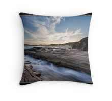 Sunset At Soldiers Beach Throw Pillow