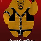 LEATHER LOVIN BEAR! by peter chebatte