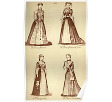 Fancy dresses described or What to wear at fancy balls by Ardern Holt 192 Mary Stuart Queen of Scots Marguerite Antoinette Poster