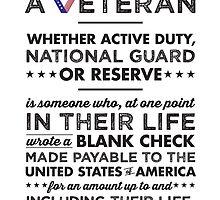 A Veteran by Sarah-Tonin