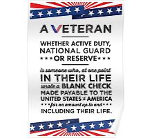 A Veteran Poster