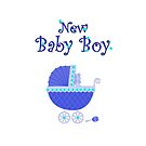 New Baby Boy card by Dawnsky2