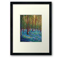 Bluebells in the Midst Framed Print