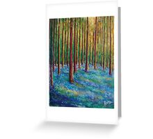 Bluebells in the Midst Greeting Card