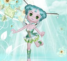 Fairy Birthday greeting card by Moonlake