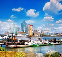 Boat - Balitimore, MD - Steam tug Baltimore 1906  by Mike  Savad