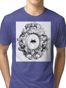 Rococo Invader Tri-blend T-Shirt