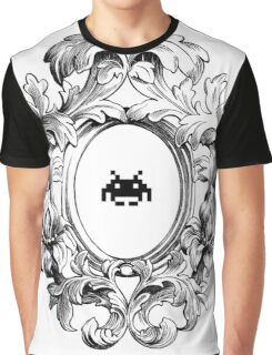 Rococo Invader Graphic T-Shirt