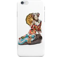 Oriental Lady Relaxing iPhone Case/Skin