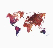 world map Kids Tee