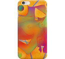 Abstract digital art - Limettina V1 iPhone Case/Skin