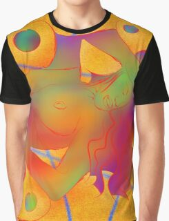 Abstract digital art - Limettina V1 Graphic T-Shirt
