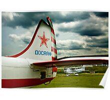Russian Tailfin Poster