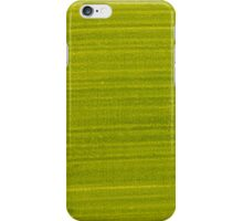 Green painted wood iPhone Case/Skin
