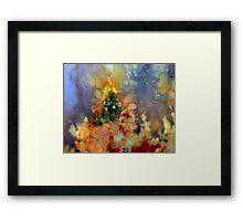 Christmas On Fire Framed Print