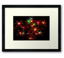 Fairy Lights Framed Print