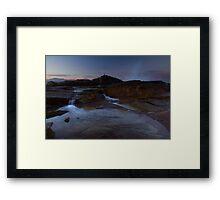 Tidal Sunset Framed Print