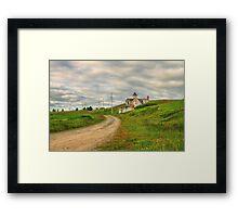 A Summer Place Framed Print